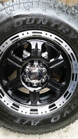 4 VTEC WHEELS WITH NEW TOYO AT/2 TIRES P265/70/17