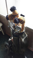 Golf Clubs - vintage full set with bag and cart!