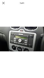 Car radio CD PLAYER and fascia