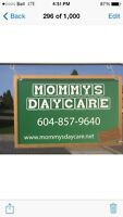 Mommy's Daycare Infant and Toddler Center