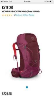 Women's Osprey Backpack - Kyte 36L in perfect condition