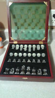 Moving sale - glass chess set for sale, High Command game