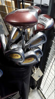 Full TNT Men's Left Handed Golf Clubs with Bag