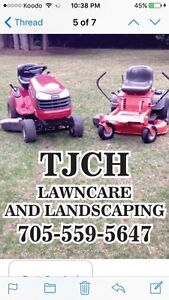 THCH LAWNCARE AND LANDSCAPING IS READY TO RAKE YOUR LEAVES