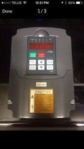 3hp PHASE CONVERTER/VARIABLE FREQUENCY DRIVE