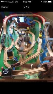 Imaginarium wooden train station $80 Windsor Region Ontario image 1