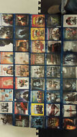 85 BLU RAYS / PS3 with 7 games