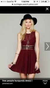 Free People dress. Size small. New condition
