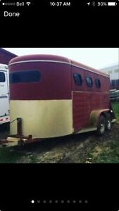3 horse trailer  Prince George British Columbia image 1