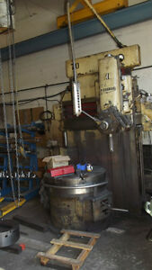 Vertical boring mill  moving  must sell all