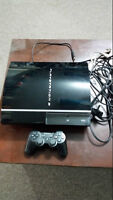 PS3, CONTROLLER AND GAMES