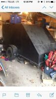 Heavy Duty Metal Covered Trailer