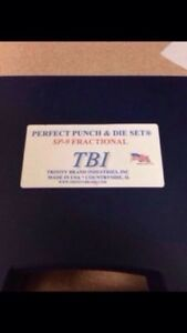 TBI PERFECT PUNCH AND DIE SET