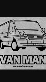 Man with a van for hire