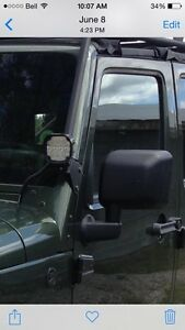 Jeep jk light mounts