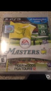 PS3 masters PGA tour tiger woods 12