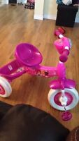 princess Toddler bike trike