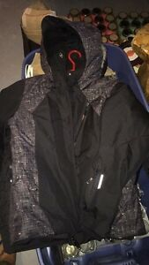 Woman and men winter jacket