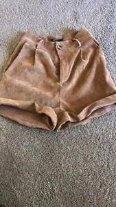 Ladies suede high wasted shorts Redland Bay Redland Area Preview