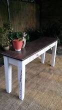White Charcoal Shabby Chic Beach House Style Sideboard Hall Table Coogee Eastern Suburbs Preview