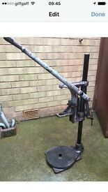 Vintage drill stand / press