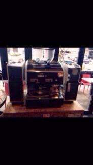 San Marino Giada Super Automatic 2group commercial coffee machine