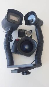 Underwater camera package (+fisheye lens,flash,video light)as new Coogee Eastern Suburbs Preview