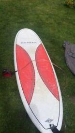 CORTEZ Mini-mal 7ft surfboard