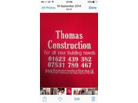 Thomas construction for all your building needs