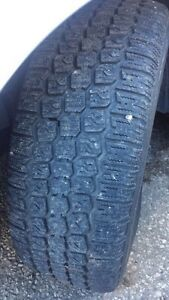 P205/55/r16 WINTER TIRES AND RIMS - GRAND AM London Ontario image 1