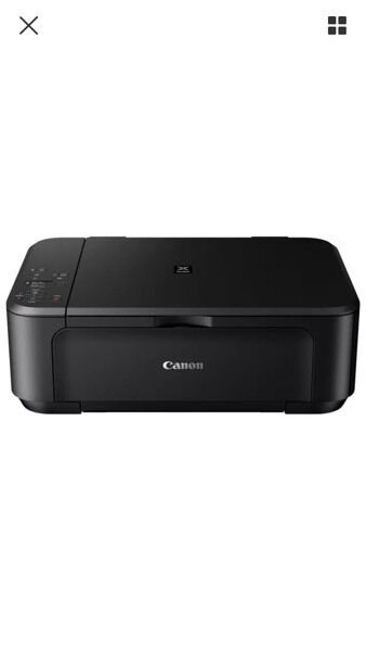 canon pixma mg3550 printer black Brand new in box