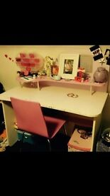 Hand made girls desk