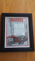 1918 OLD WWI MAGAZINE PRINT AD, MASTER TRUCKS, ON ANY ROAD, ART!