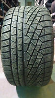 4 STAGGERED 19 PIRELLI SNOW tires 275/40/19  & 245/45/19