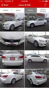 2010 Lexus IS 250 AWD Fully loaded with Navigation
