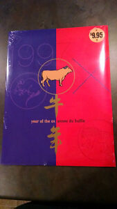 1997 Year of the Ox Lunar Pack Kitchener / Waterloo Kitchener Area image 1