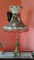 ANTIQUE LAMP HAND CRAFTED