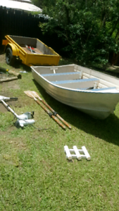 11.5 ft tinnie and electric motor