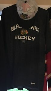 Chicago Blackhawks T-Shirt and Hat