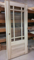 Solid Wood Panel Doors