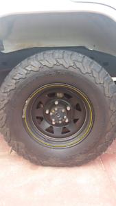 "BF Goodrich KO2 235/85R16 (32"") + ROH wheels x 5 Perth Perth City Area Preview"