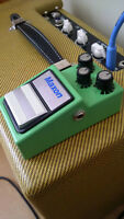 BOSS Blues Driver BD2 and Maxon OD-9 (Ibanez Tube Screamer)
