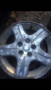 "16"" aluminum rim set Cambridge Kitchener Area image 2"