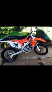 2010 Honda  crf250r / trade for HD sportster