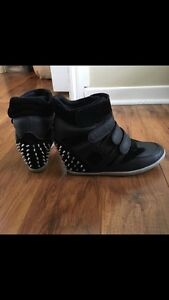 Spiky Wedge Sneakers