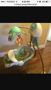 Fisher price baby swing Cambridge Kitchener Area image 1