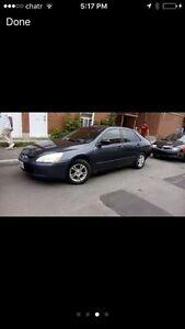 Honda Accord 2003( vente rapide)