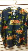 Hawaiian aloha mens shirts