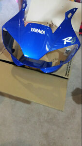 FRONT UPPER BODY PANEL FOR YAMAHA R6 -- BRAND NEW --