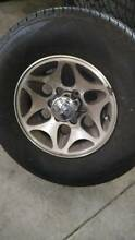 4x4 as NEW tyres 265/70 r 16 +wheels Glenroy Moreland Area Preview
